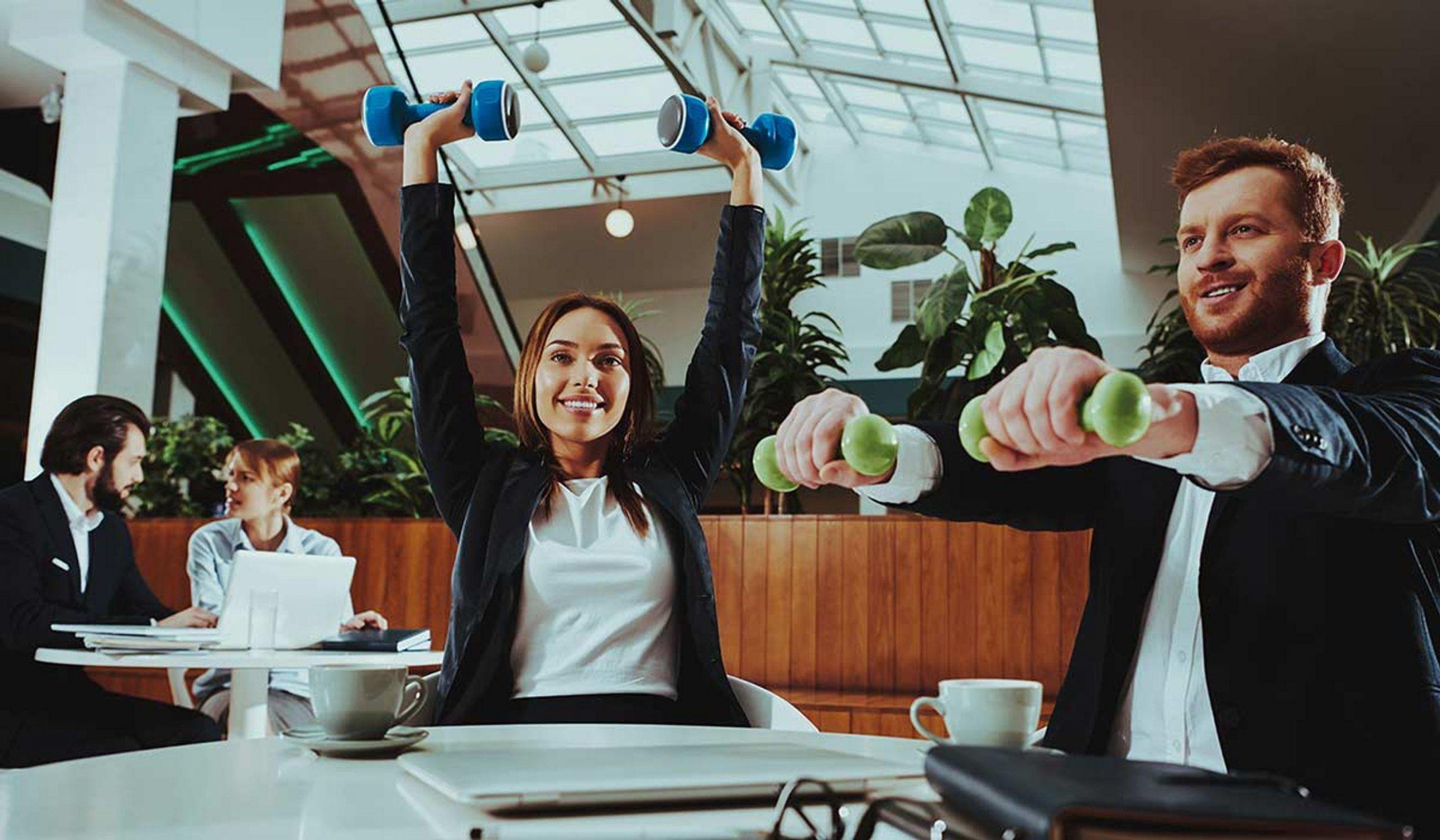 Ofiste Yapılacak Spor Hareketleri